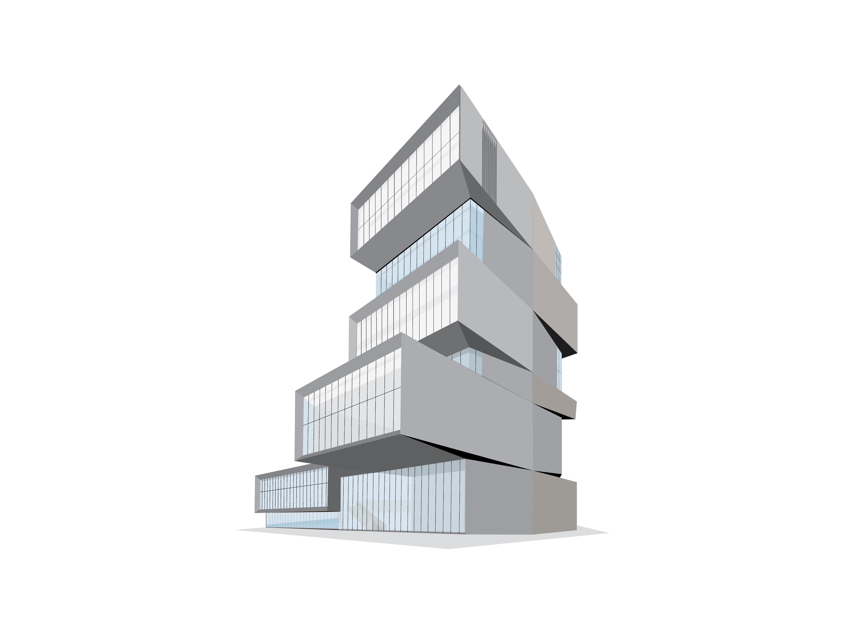 Architectural rendering of the Rubenstein forum