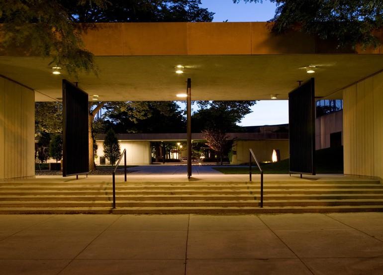 outside of art center
