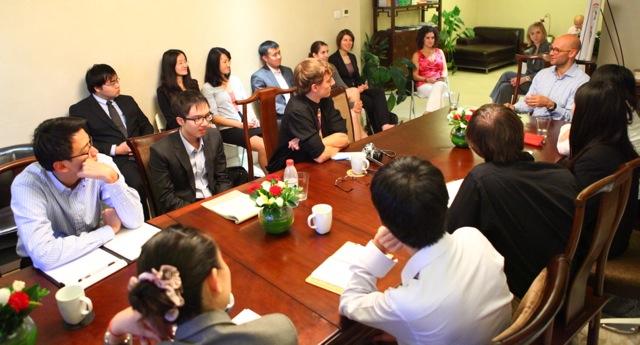 Career Advancement Trek Brings Students to Beijing | Center