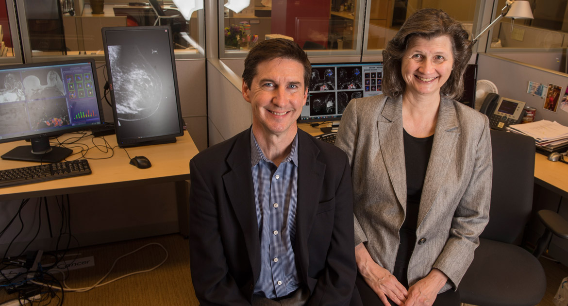 John Flavin and Maryellen Giger at the Chicago Innovation Exchange