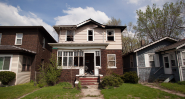 A house in Gary, Indiana