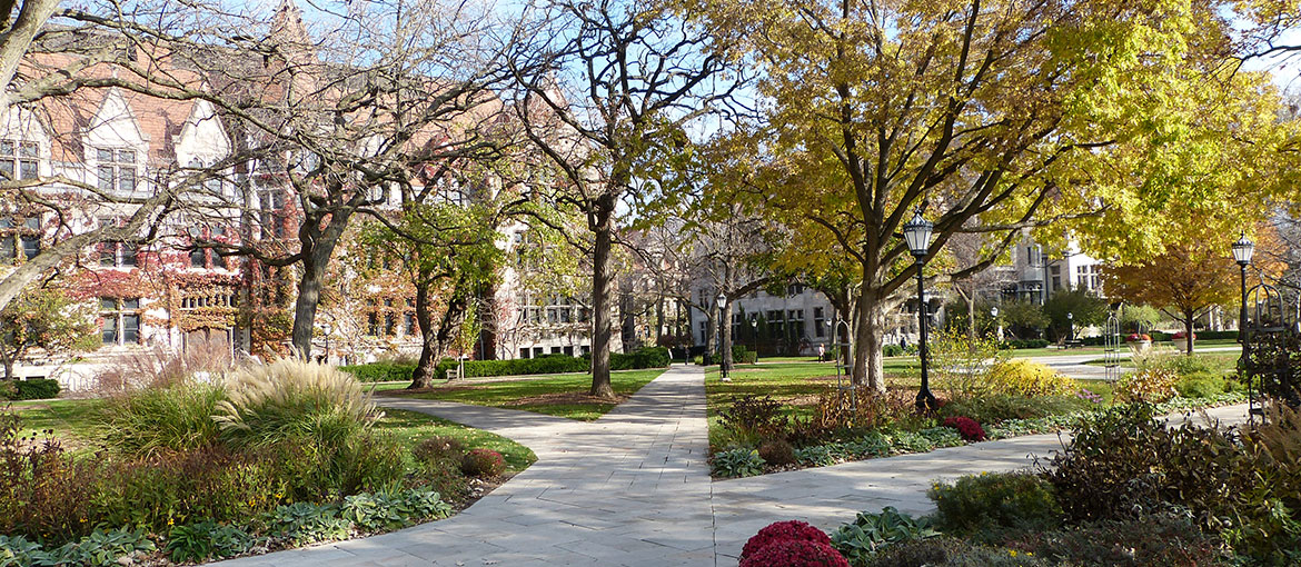 UChicago main quad