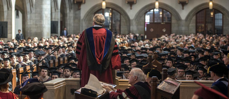 Divinity School graduate ceremony