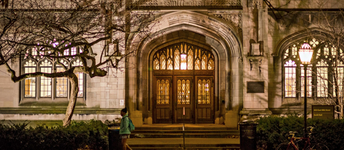 Swift Hall on UChicago campus