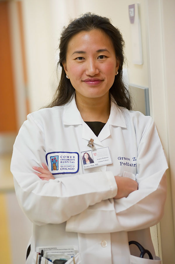 Grace Mak, MD, director of the Pediatric Colorectal Reconstruction Center