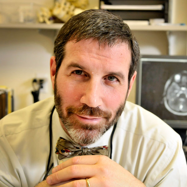 David M. Frim, MD, PhD, chief of neurosurgery, performed John Jr.'s brain surgery