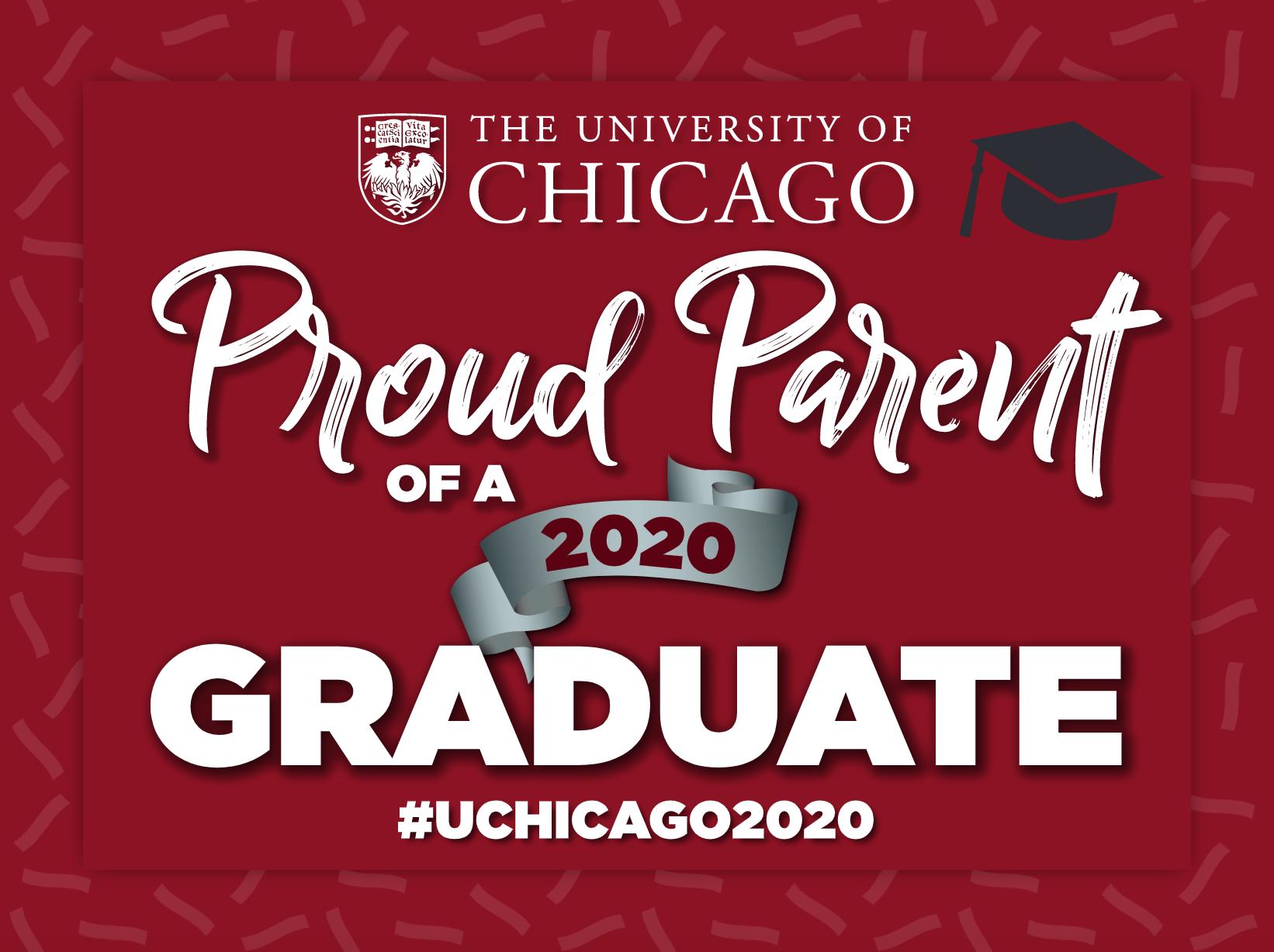 Proud Parent of a 2020 Graduate