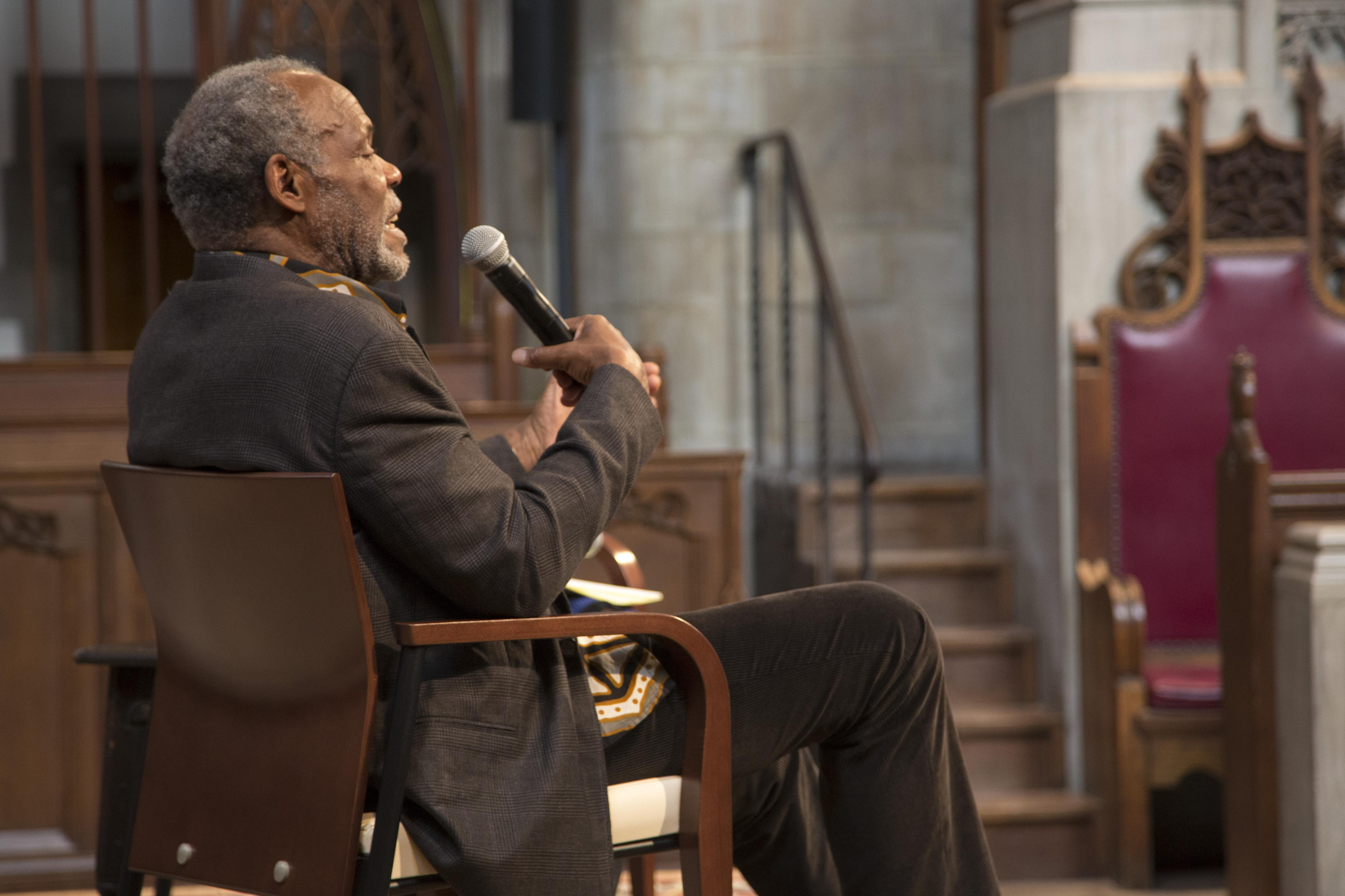 Danny Glover, May 2014