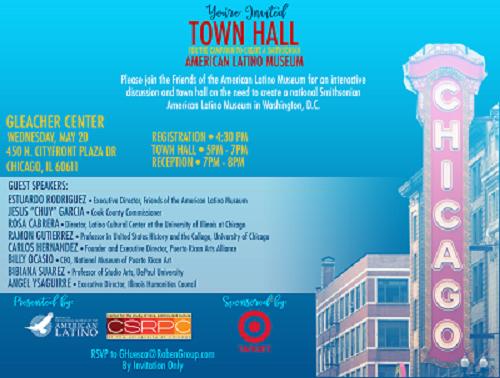 American Latino Museum Town Hall Invite