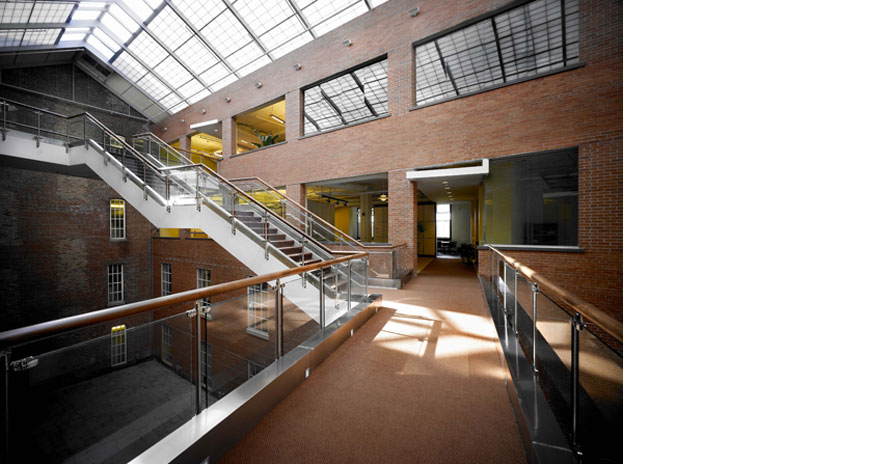 Interior Atrium and Staircases