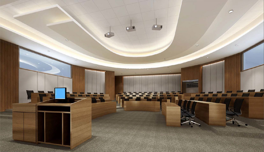 rendering lecture hall