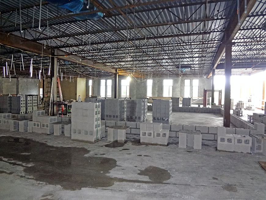 Interior Building Construction : Facilities services building the university of chicago