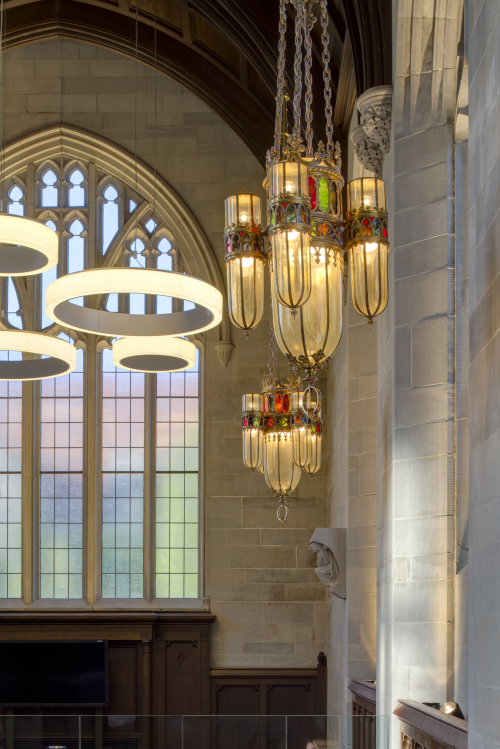 University of Chicago award winning architecture.