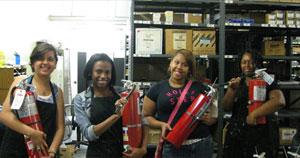 Facilities Services interns