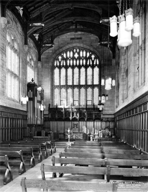 bond chapel in it's early beginnings