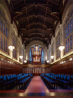 renovation of bond chapel