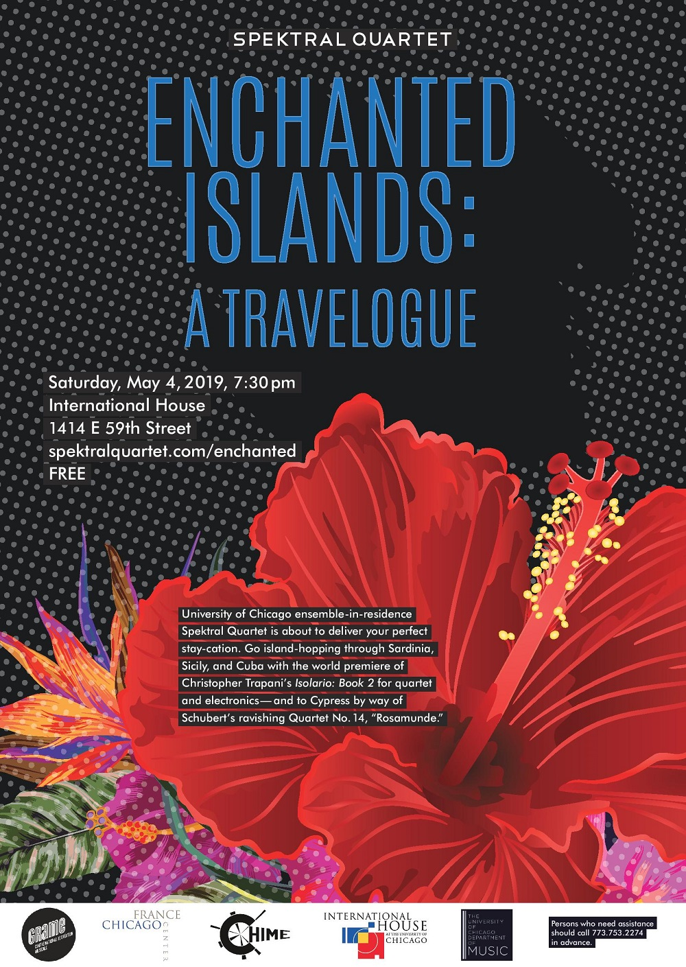 Enchanted Islands: A Travelogue' by Spektral Quartet