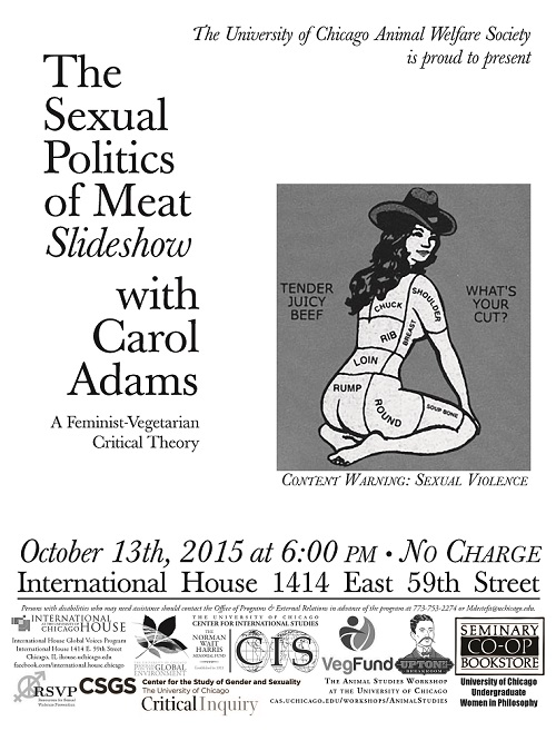 The sexual politics of meat book