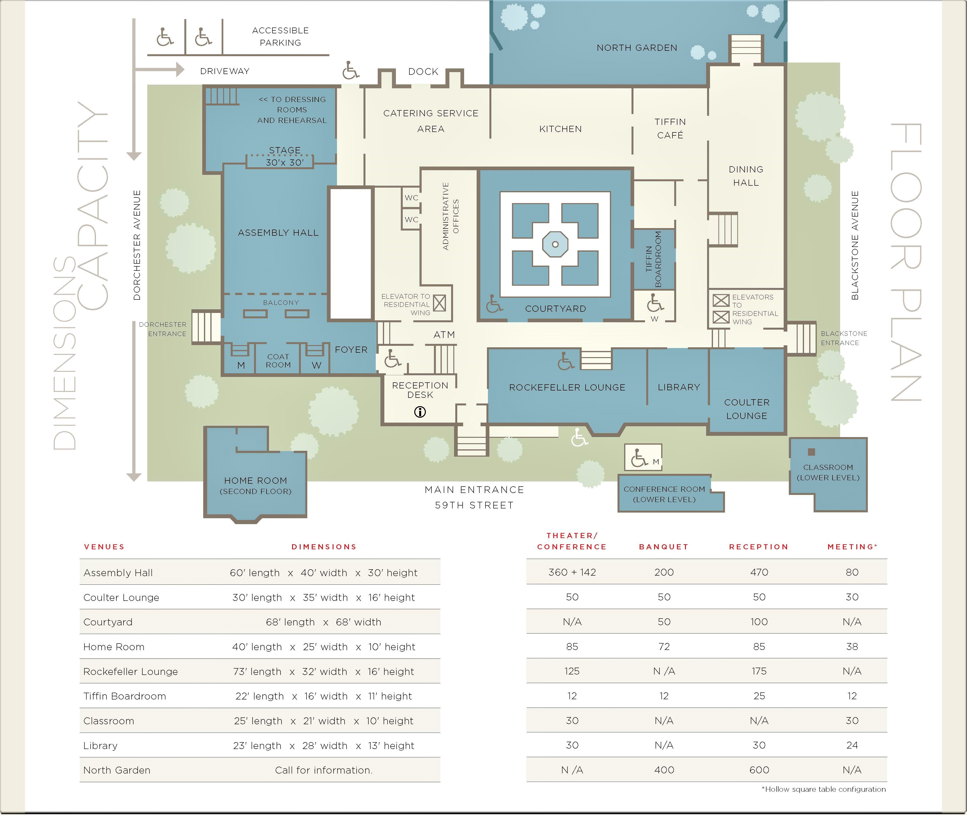 Floor Plans International House The University Of Chicago
