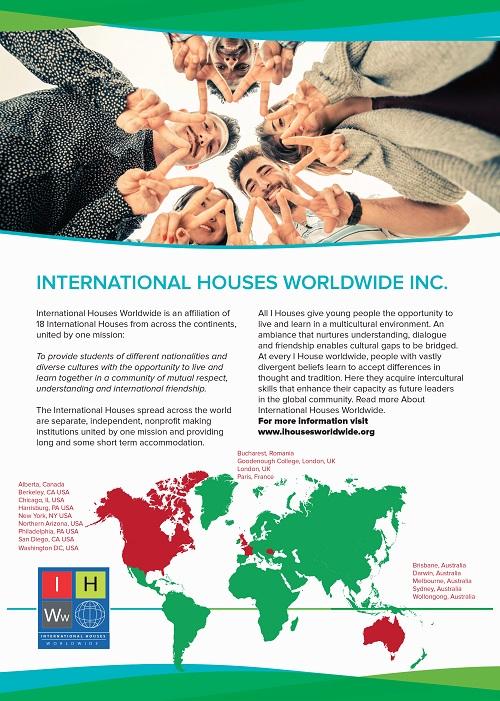 List of International Houses | International House | The