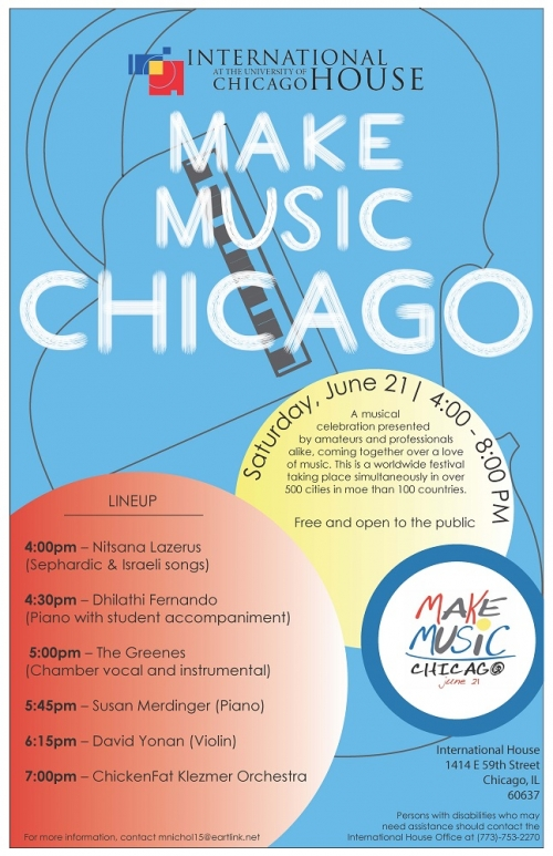 International house at the university of chicago for Chicago house music songs