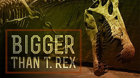 Bigger than T.rex on PBS Image