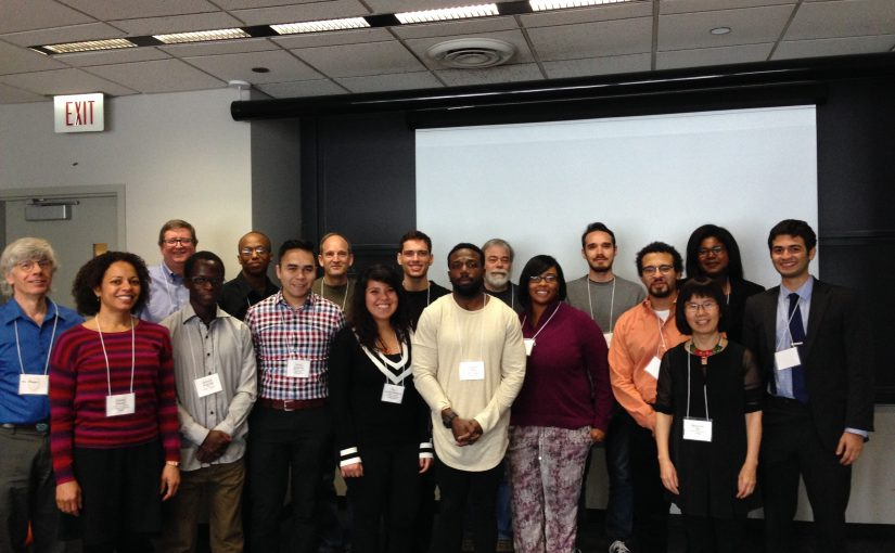 First URM workshop group photo