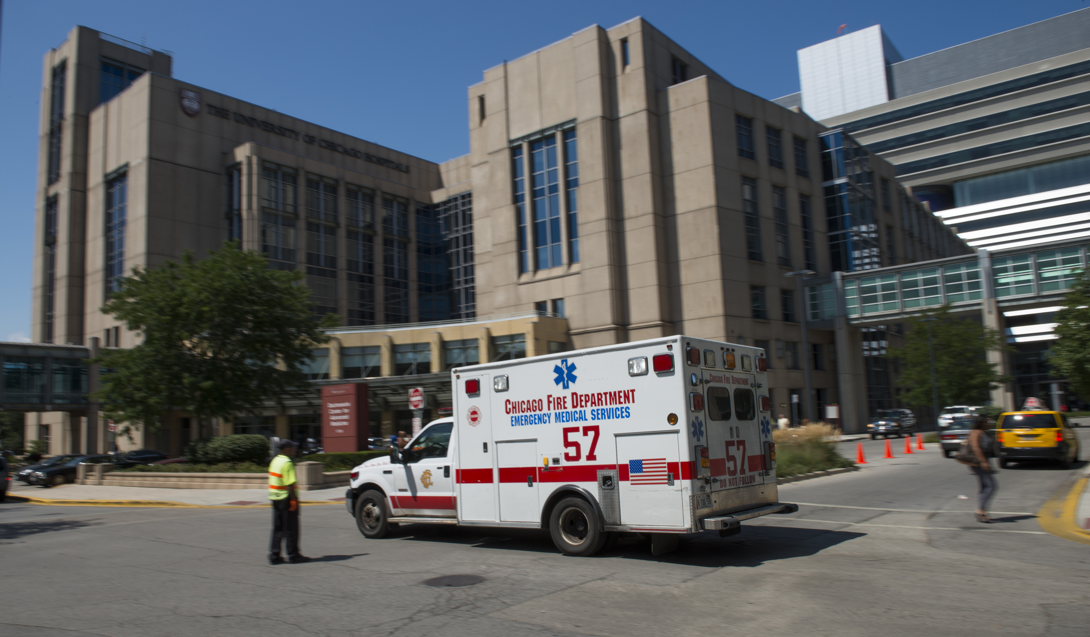 The University of Chicago Medicine is one of the many partners the University works with for its emergency management program.