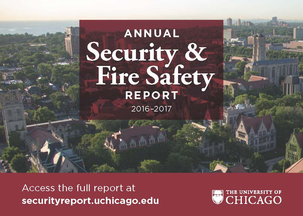 Postcard of the Annual Security & Fire Safety Report