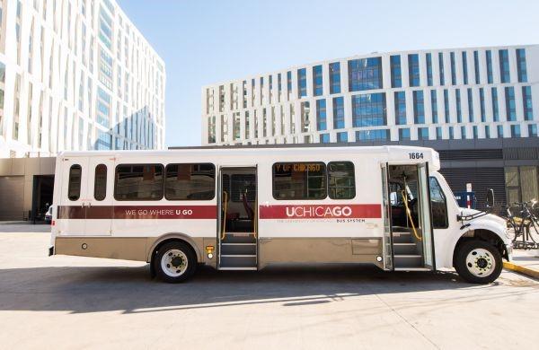 The University's new UGo shuttles