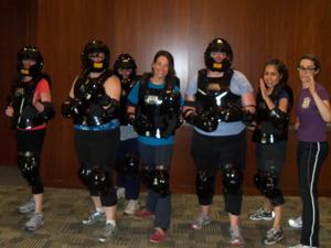 Rape Aggression Defense class photo