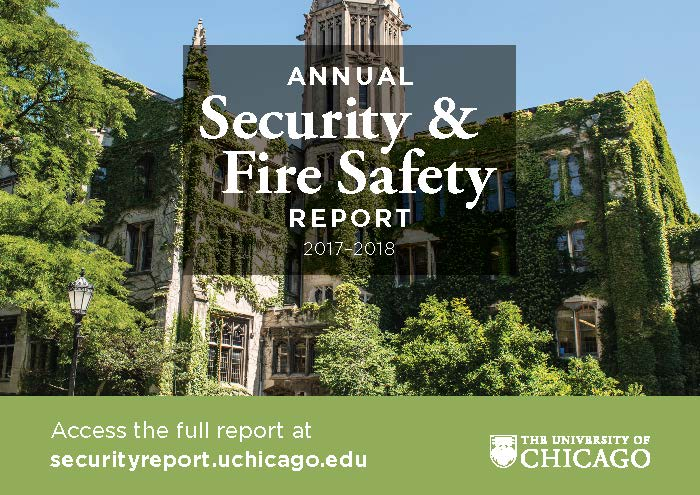 UChicago's Annual Security & Fire Safety Report 2017-2018