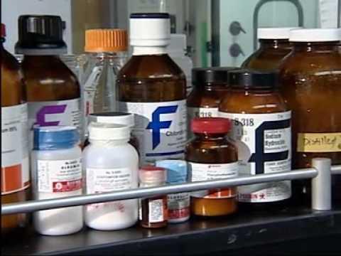 Various laboratory chemicals