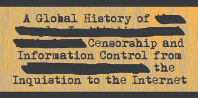 examples of censorship in todays society
