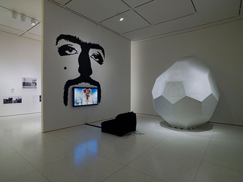Installation view of Heartland