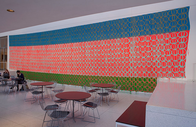 Installation view of Chromatic Patterns