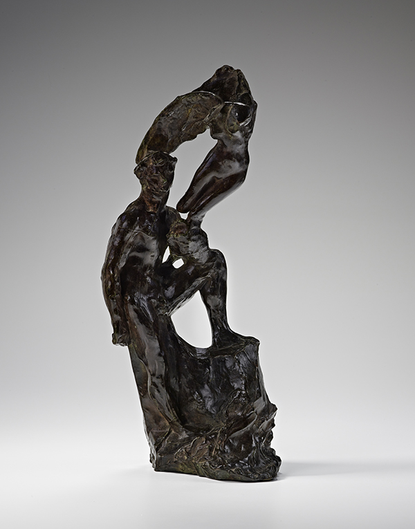 Auguste Rodin, The Hero, 1896, Bronze, 16 3/8 × 6 1/2 × 4 3/4 in. (41.6 × 16.5 × 12.1 cm). Iris & B. Gerald Cantor Center for Visual Arts at Stanford University, Gift of the Iris and B. Gerald Cantor Foundation, 1998.363.