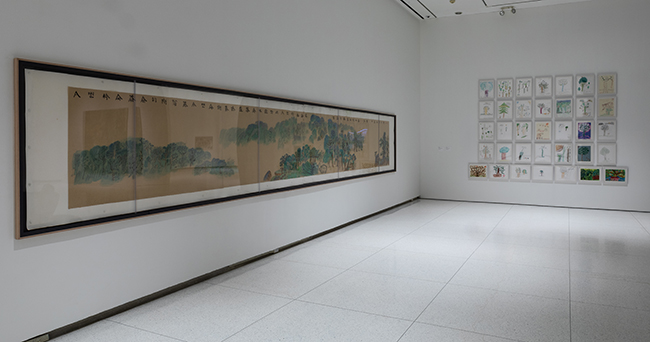 Works by Xu Bing at the Smart Museum