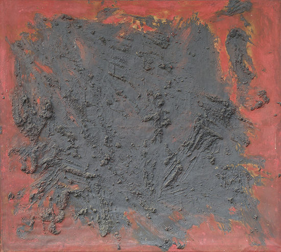 Tang Chang, Untitled, c. 1963, Oil on canvas. Courtesy of Thip Sae-tang