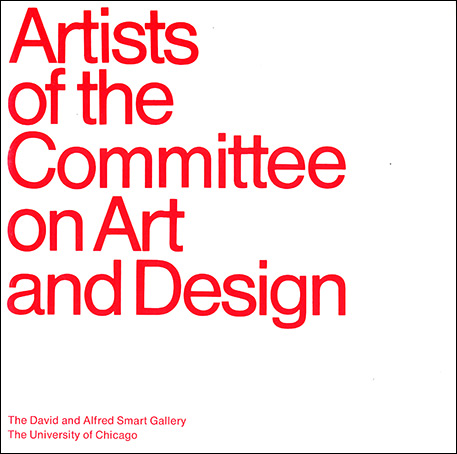Book cover for Artists of the Committee on Art and Design