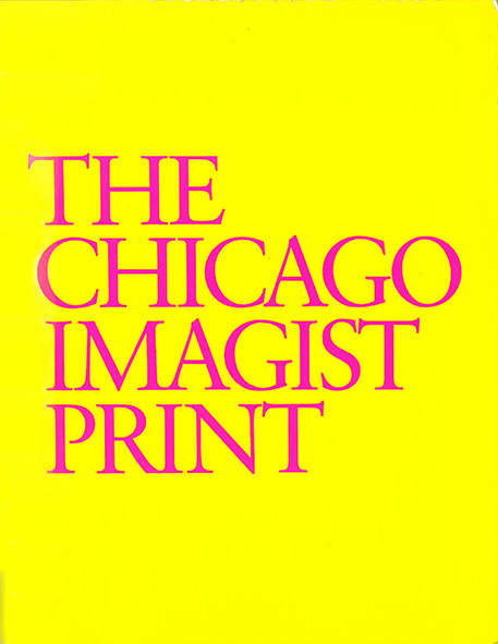Book cover for The Chicago Imagist Print