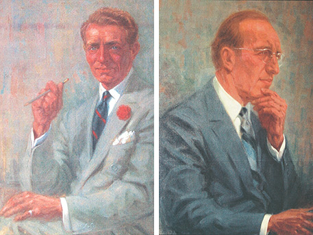 Portraits of David and Alfred Smart