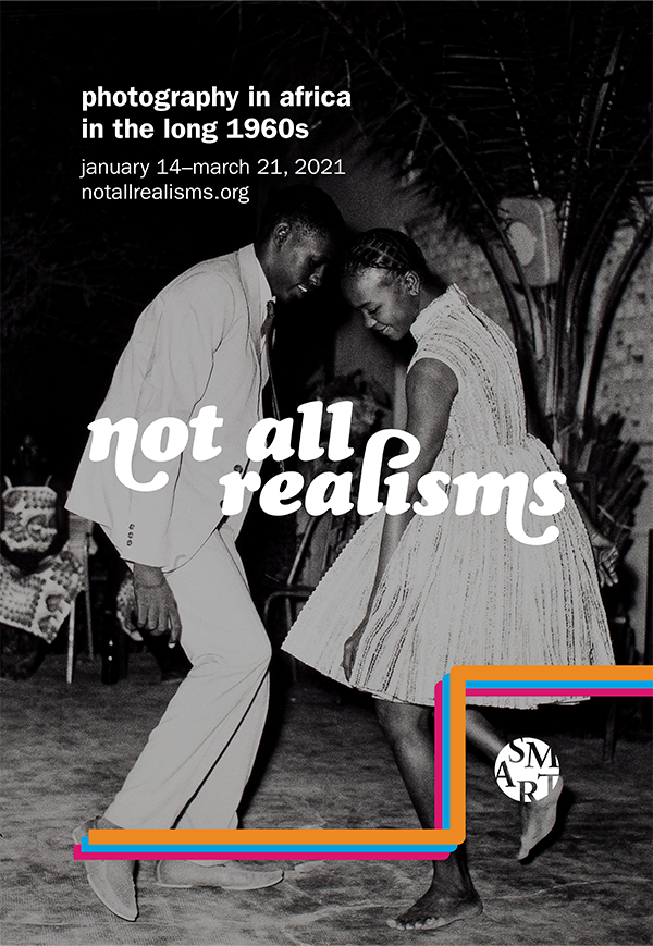 Mockup of poster for not all realisms, designed by Unyimeabasi Udoh.