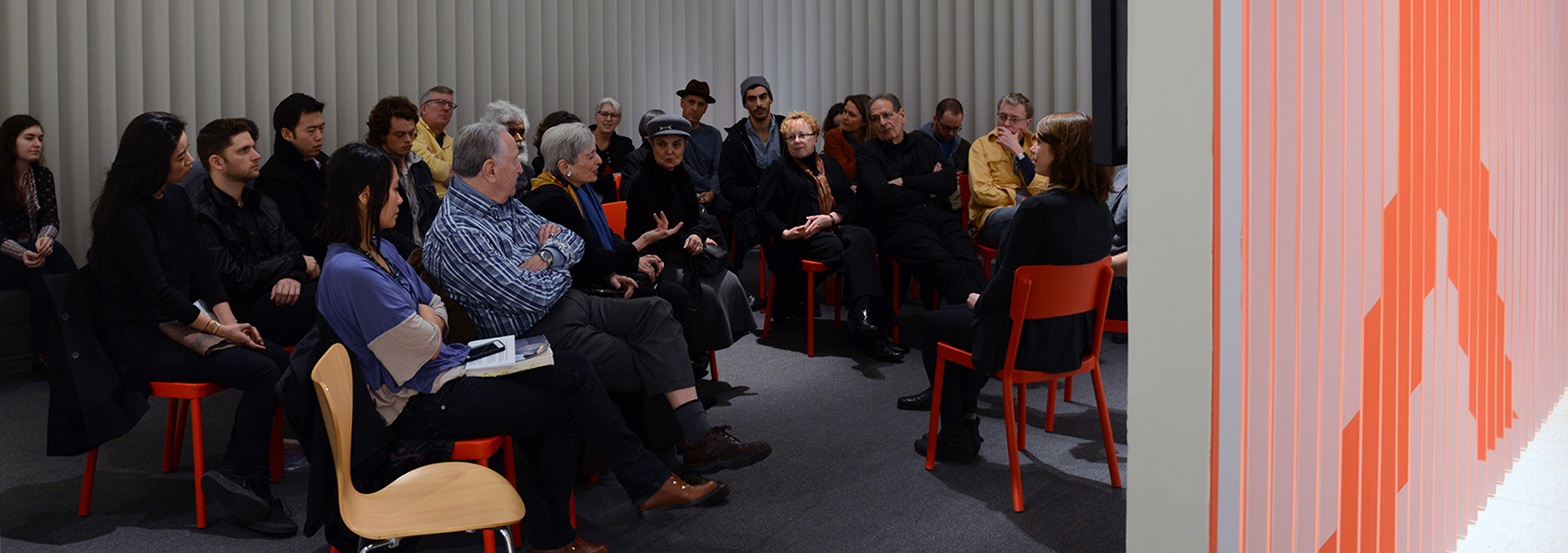 Lecture in GalleryX during the Smart's 40th anniversary