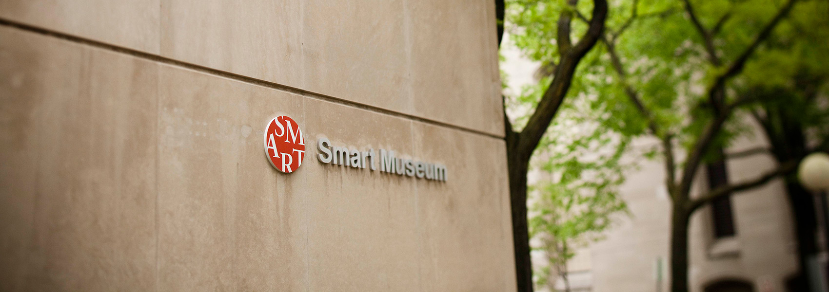 Exterior view of the Smart Museum