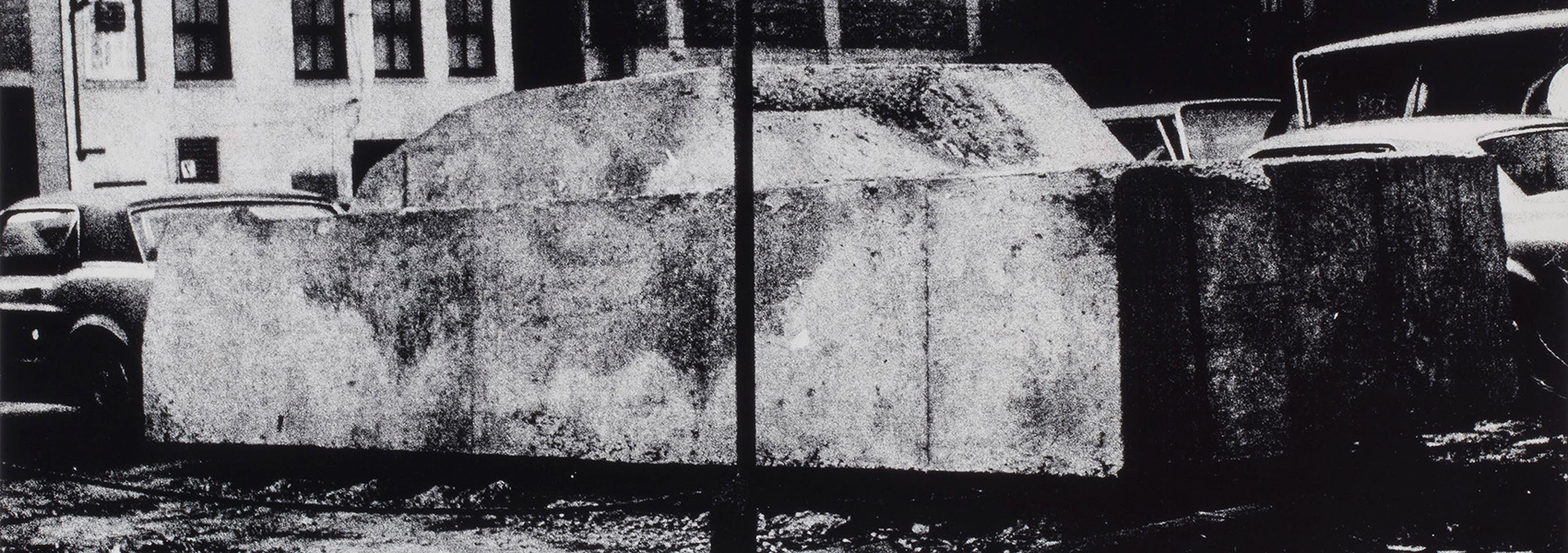Wolf Vostell, Concrete Traffic, Chicago, 1970