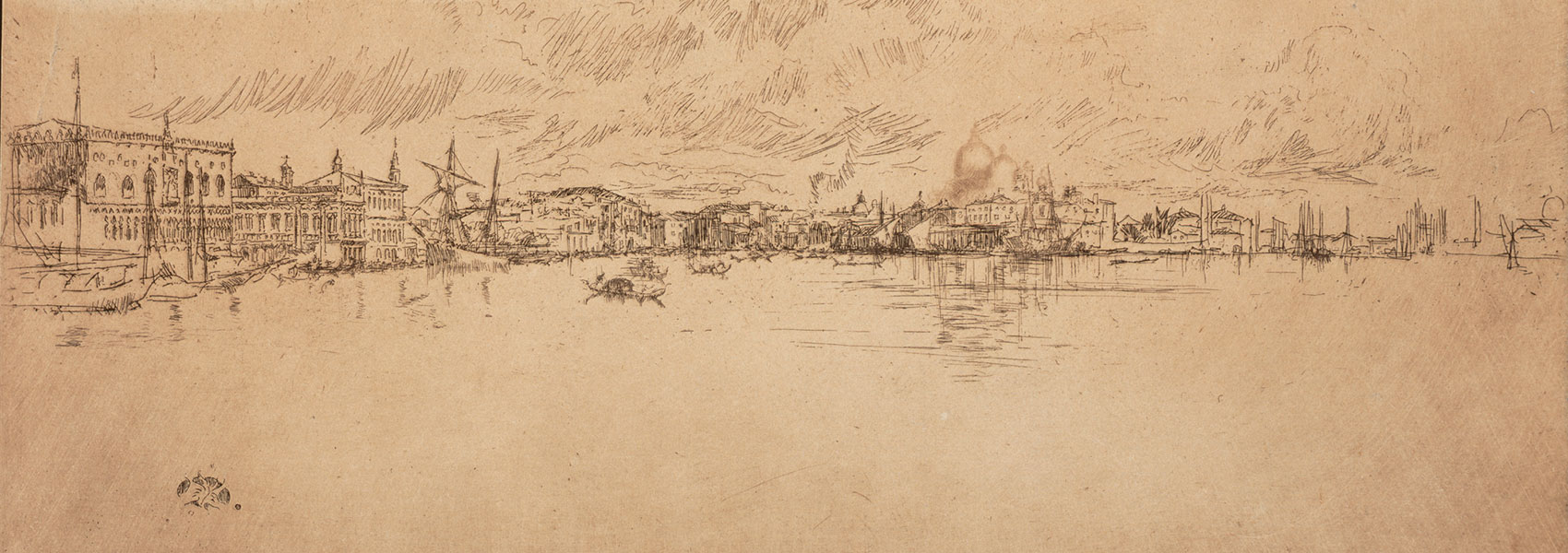 James Abbott McNeill Whistler, Long Venice, 1879-1880