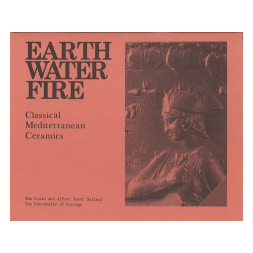 Catalogue cover for Earth, Water, Fire