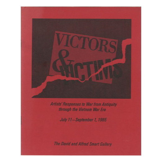 Catalogue cover for Victors and Victims