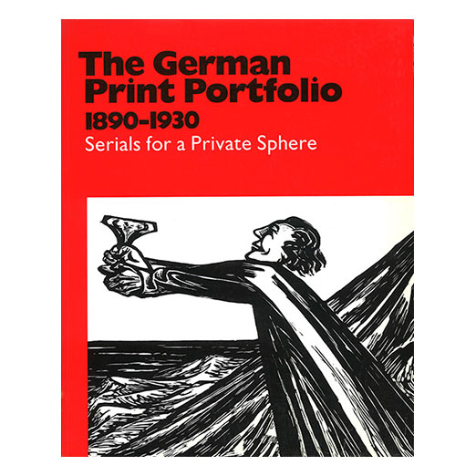 Catalogue cover for The German Print Portfolio
